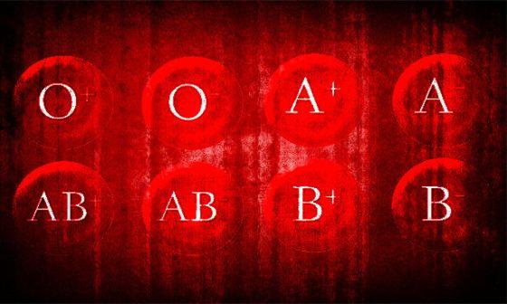 فئات الدم